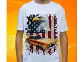 Dětské a pánské tričko s autem Buick Riviera