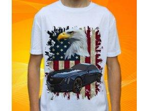 Dětské a pánské tričko s autem Cadillac Elmiraj