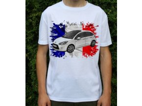 Dětské a pánské tričko s autem Citroen C3 2010