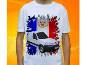 Dětské a pánské tričko s autem Citroen Berlingo