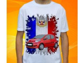 Dětské a pánské tričko s autem Citroen C1