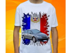 Dětské a pánské tričko s autem Citroen C4 2005