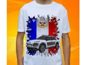 Dětské a pánské tričko s autem Citroen C4 Cactus