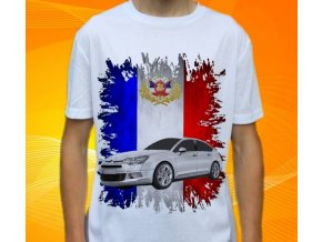 Dětské a pánské tričko s autem Citroen C5