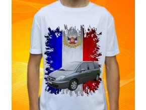 Dětské a pánské tričko s autem Citroen C8