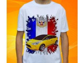 Dětské a pánské tričko s autem Citroen DS5