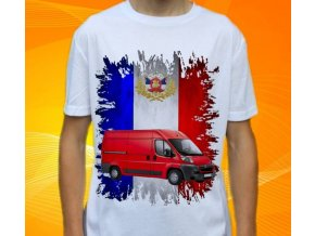 Dětské a pánské tričko s autem Citroen Jumperh