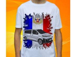 Dětské a pánské tričko s autem Citroen Jumpy