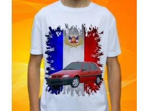Dětské a pánské tričko s autem Citroen Saxo