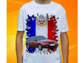 Dětské a pánské tričko s autem Citroen Xantia Combi