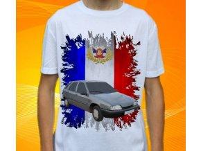 Dětské a pánské tričko s autem Citroen ZX