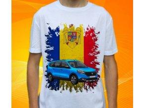 Dětské a pánské tričko s autem Dacia Lodgy 2015