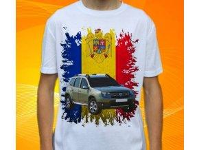 Dětské a pánské tričko s autem Dacia Duster