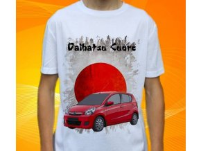 Dětské a pánské tričko s autem Daihatsu Cuore