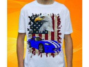 tričko s autem Dodge Viper GTS