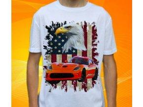 tričko s autem Dodge Viper SRT