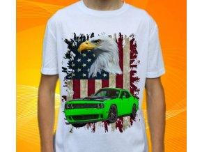 tričko s autem Dodge Challenger