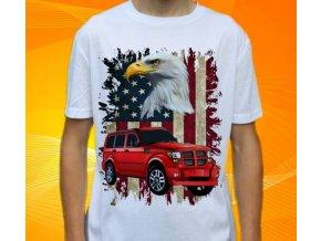 tričko s autem Dodge Nitro