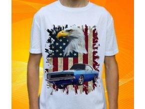 tričko s autem Dodge Charger