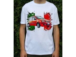 Dětské a pánské tričko s autem Fiat Panda 2003