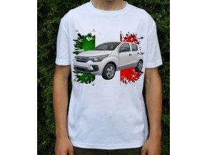 Dětské a pánské tričko s autem Fiat Mobi 2017