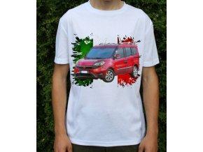 Dětské a pánské tričko s autem Fiat Doblo 2015