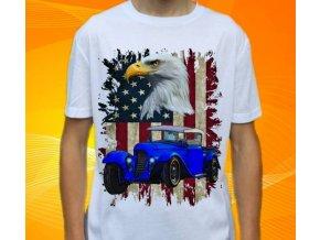 Dětské a pánské tričko s autem Ford