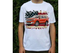 Dětské a pánské tričko s autem Ford Everest 2016