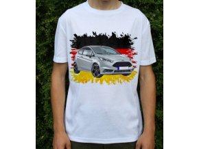 Dětské a pánské tričko s autem Ford Fiesta ST200 2017
