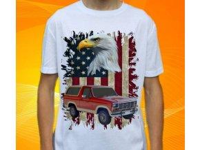 Dětské a pánské tričko s autem Ford Bronco