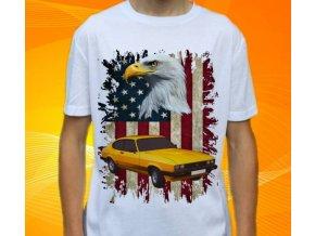 Dětské a pánské tričko s autem Ford Capri
