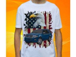 Dětské a pánské tričko s autem Ford Expedition