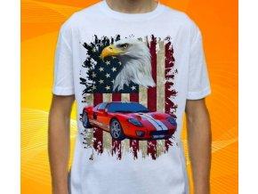 Dětské a pánské tričko s autem Ford GT40