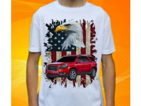 tričko s autem GMC Acadia