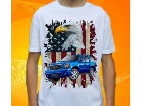 tričko s autem GMC Yukon