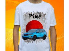 Dětské a pánské tričko s autem Honda Pilot