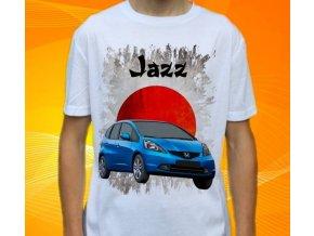 Dětské a pánské tričko s autem Honda Jazz
