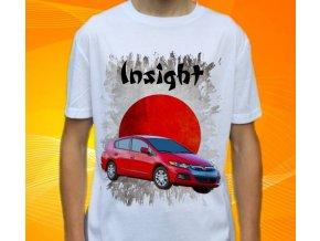 Dětské a pánské tričko s autem Honda Insight