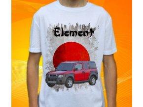 Dětské a pánské tričko s autem Honda Element