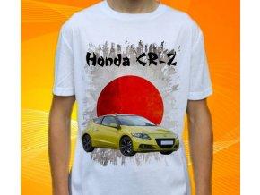 Dětské a pánské tričko s autem Honda CRZ