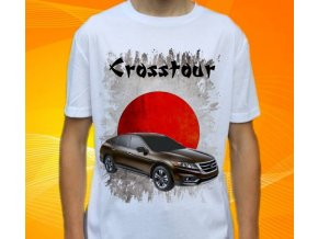 Dětské a pánské tričko s autem Honda Crosstour
