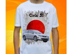 Dětské a pánské tričko s autem Honda Civic SI
