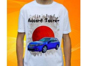 Dětské a pánské tričko s autem Honda Accord Tourer