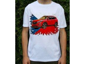 Dětské a pánské tričko s autem Hyundai Tucson