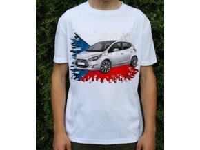 Dětské a pánské tričko s autem Hyundai IX20