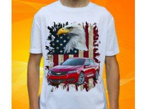 tričko s autem Chevrolet Impala