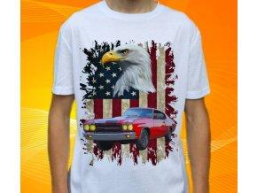 tričko s autem Chevrolet Chevelle