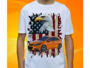 tričko s autem Chevrolet Cruze