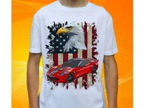 tričko s autem Chevrolet Corvette New