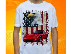 tričko s autem Chevrolet Corvette